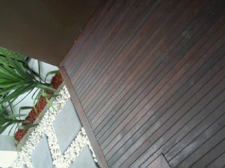 Stained Decking