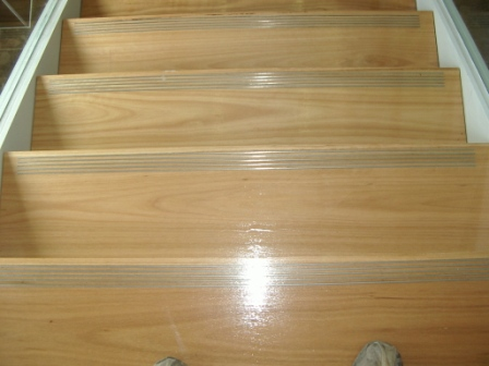Timber Staircase f